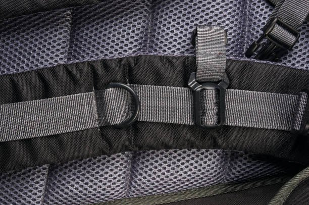 Heavyweight fabrics for packs and comfort 3D fabrics for straps and padding