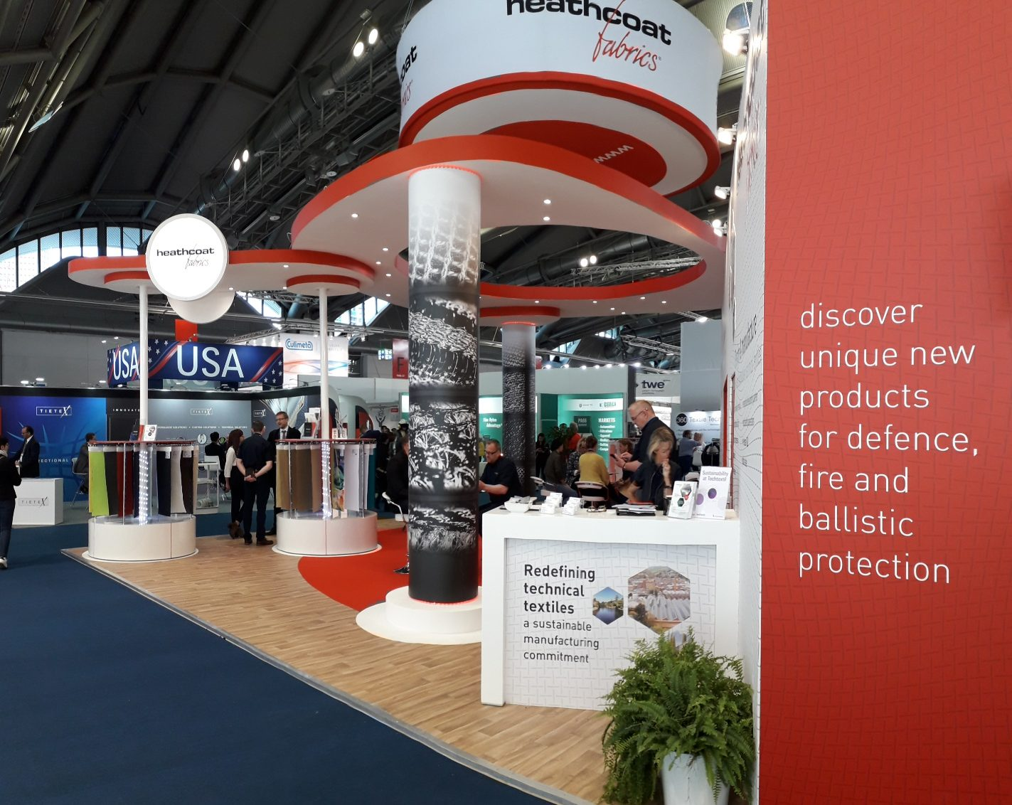 Heathcoat Fabrics at Techtextil 2019