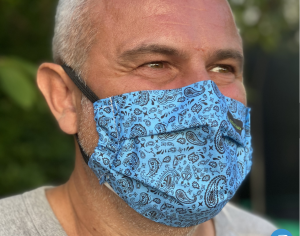 Brilliant Face Masks made with English cotton have proven anti-viral treatment